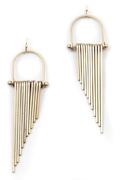 Bar Fringe Earrings