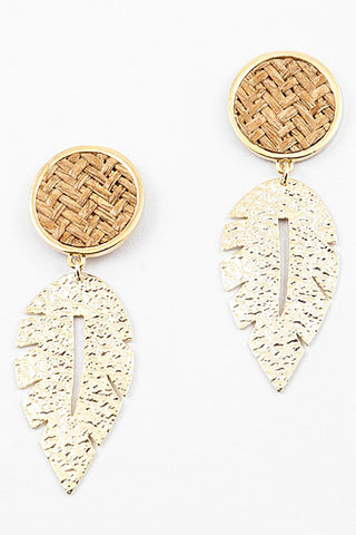 Dani Leaf Earrings