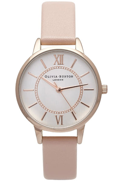 Olivia Burton Code: OB15WD28 Wonderland Dusty Pink and Rose Gold