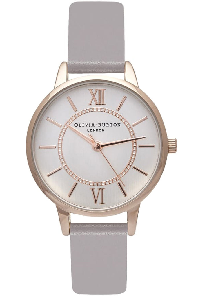 Olivia Burton Code: OB15WD51 Wonderland Gray Lilac, Rose Gold and Silver