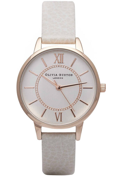 Wonderland Mink and Rose Gold Olivia Burton OB14WD24