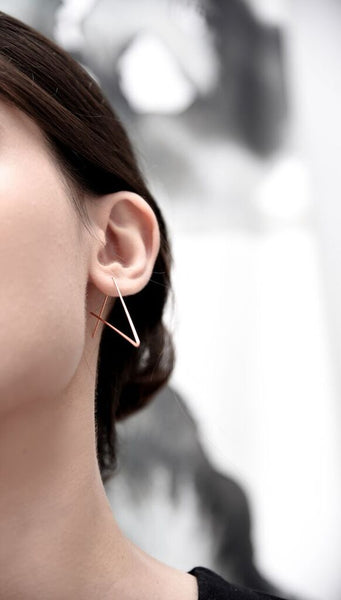 Svelte Tri Earrings