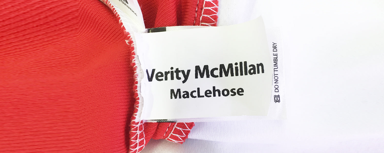 Non-woven sewing name tags