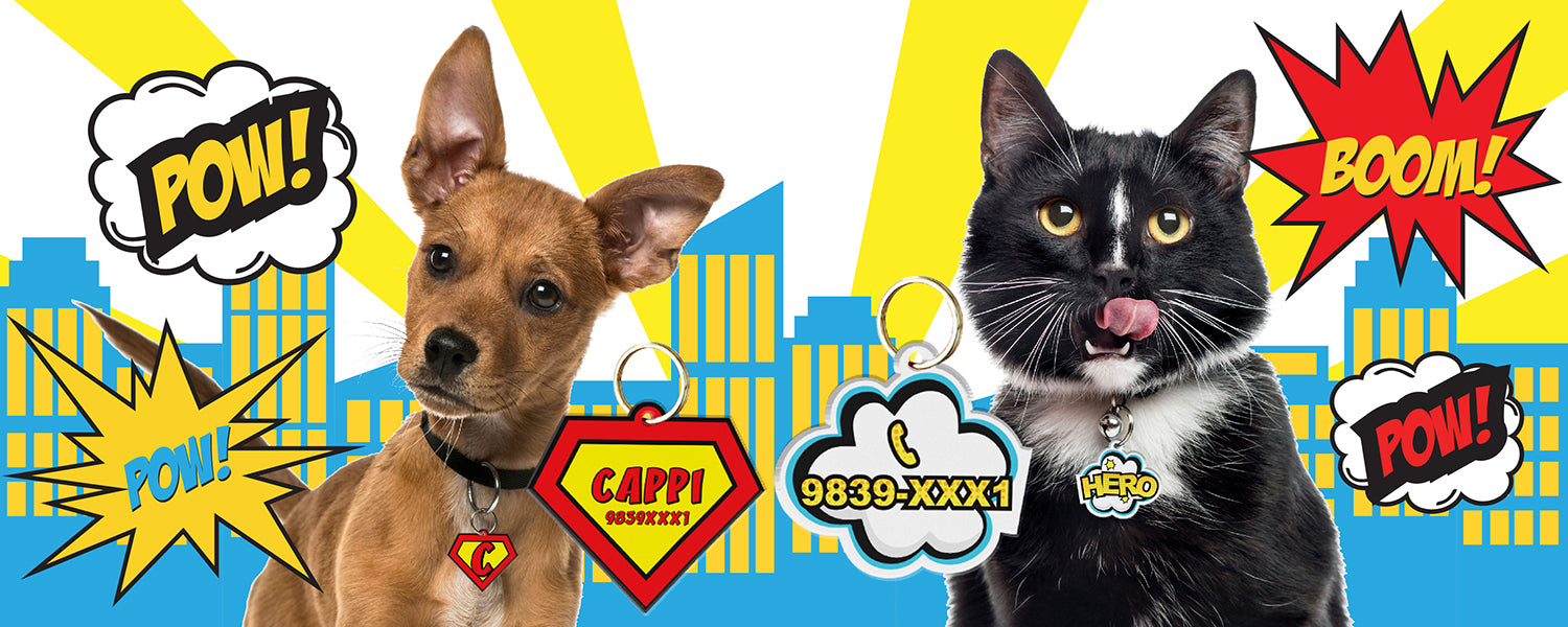 SuperPet ID Tags