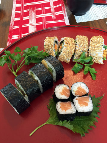 Makizushi (rolled sushi)