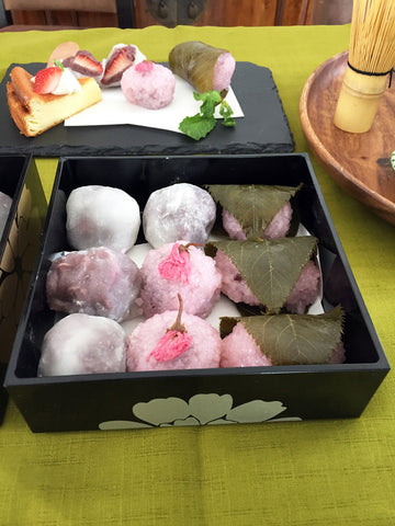 Wagashi (traditional Japanese confections)