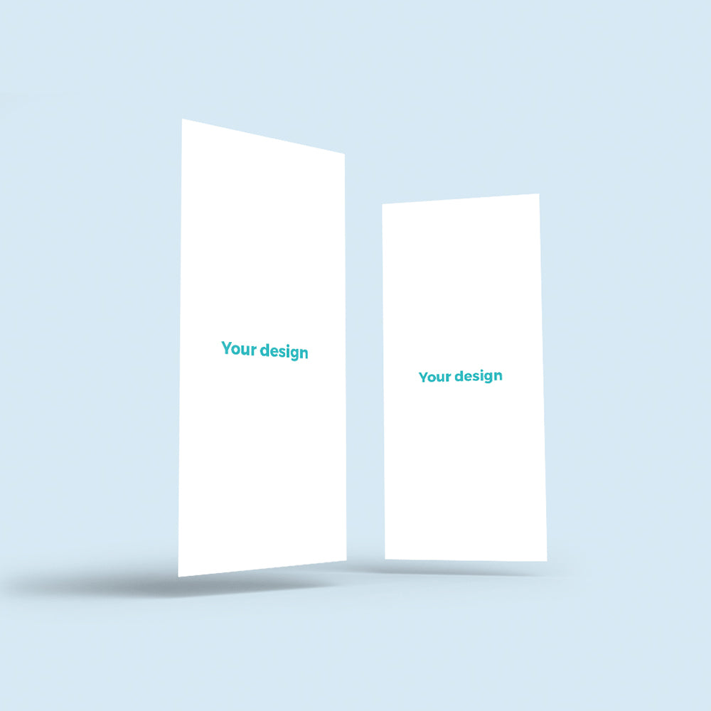 Print Your Own Design | 10x21cm Cards | Blank Sheet