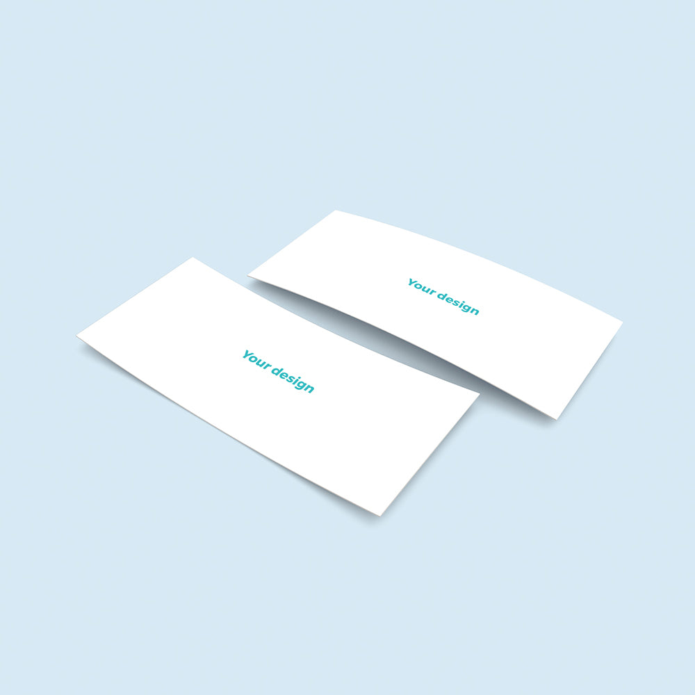 print your own design 21x10cm min 20 cards