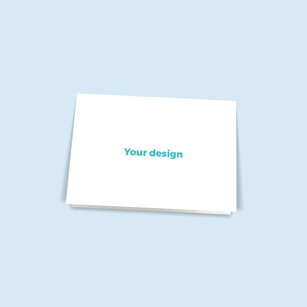 "Print Your Own Design | 7""x5"" Cards 