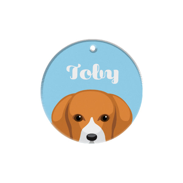 Beagle | Best In Breed | Personalized Dog Tags by Blank Sheet