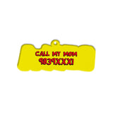 Comic Font | Personalized Pet ID Tags for Dogs & Cats by Blank Sheet