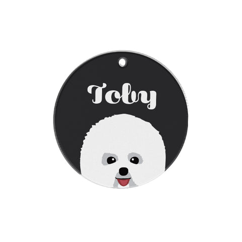 Bichon Frise | Personalized Dog Tags by Blank Sheet