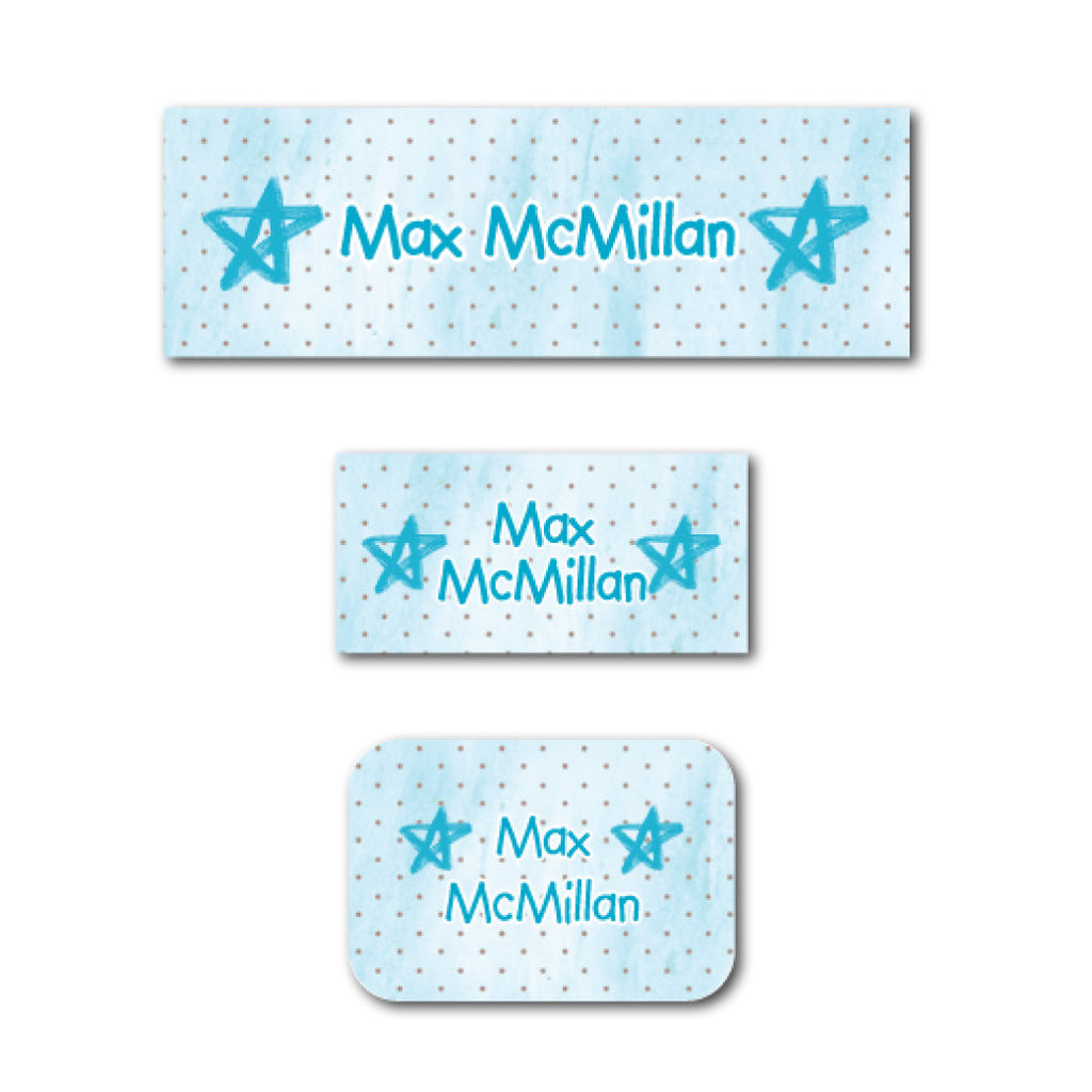 Blue Stars name labels