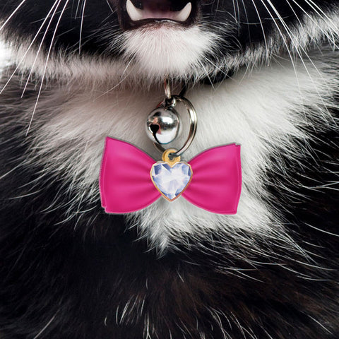Diamond Brooch - Personalized Pet ID Tags for Dogs & Cats