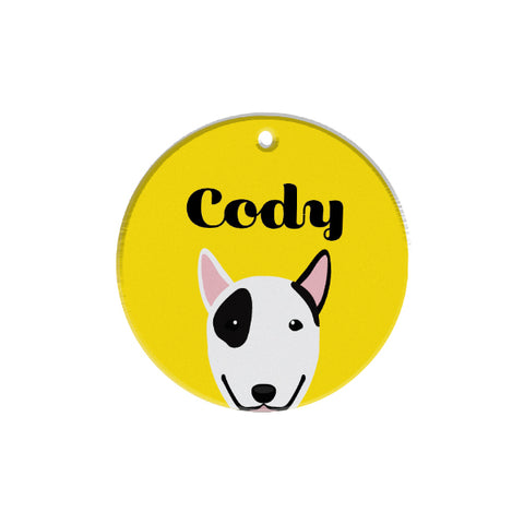 Bull Terrier | Best In Breed | Personalized Dog Tags by Blank Sheet