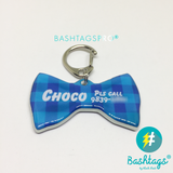 Check Bow Tie | Personalized PetCheck Bow Tie | Personalized Pet ID Tags for Dogs & Cats by Blank Sheet ID Tags for Dogs & Cats by Blank Sheet