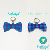 Check Bow Tie | Personalized Pet ID Tags for Dogs & Cats by Blank Sheet