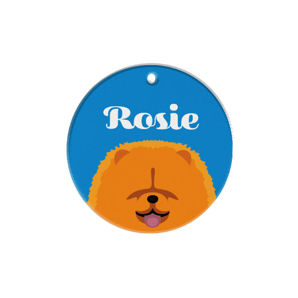 Chow Chow | Best In Breed Bashtags® | Personalized Dog Tags by Blank Sheet