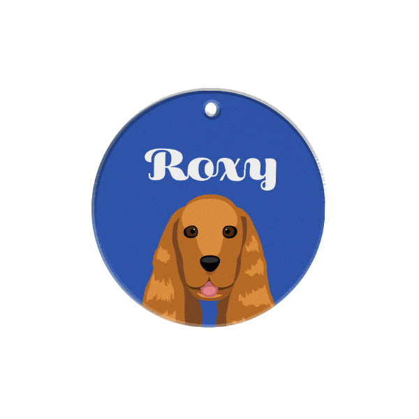Cocker Spaniel | Personalized Dog Tags by Blank Sheet