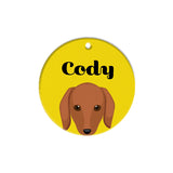Dachshund | Personalized Dog Tags by Blank Sheet
