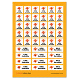 My Labels™ Chic & Fun Sticky Name Labels Single Icon
