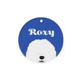 Old English Sheepdog | Personalized Dog Tags by Blank Sheet