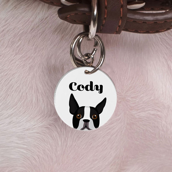 Boston Terrier | Best In Breed Bashtags® | Personalized Dog Tags by Blank Sheet