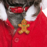 Gingerbread Boy Bashtags®  | Personalized Pet ID Tags for Dogs & Cats by Blank Sheet