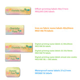 name label formats