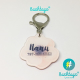 Hibiscus | Personalized Pet ID Tags For Dogs & Cats | Blank Sheet