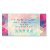Triangular Pixels Address Labels