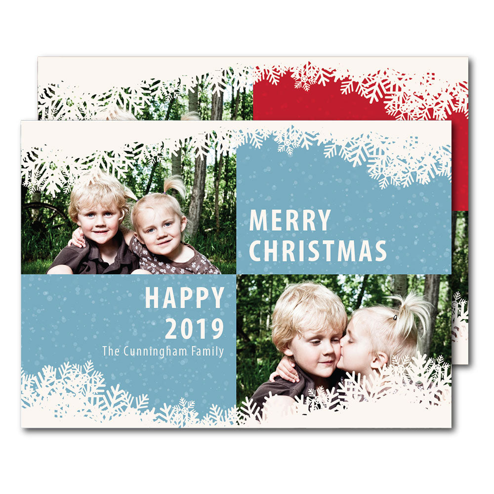 Let It Snow | Holiday Cards by Blank Sheet