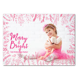 Pink card front