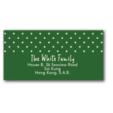 Green address labels