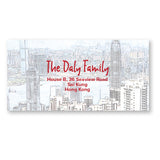 Hong Kong Unwrapped | Address Labels | Holiday Cards by Blank Sheet