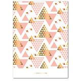 Geometric Christmas Trees | Holiday Cards by Blank Sheet