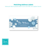 Snowy Holiday | Address Labels | Holiday Cards by Blank Sheet