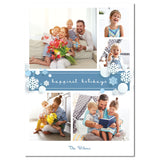 Snowy Holiday | Holiday Cards by Blank Sheet