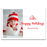 Santa Hat | Holiday Cards and Christmas Cards by Blank Sheet