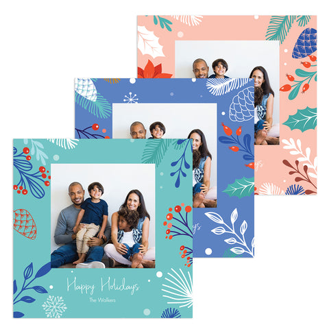 Vibrant Celebration | Holiday Cards and Christmas Cards by Blank Sheet
