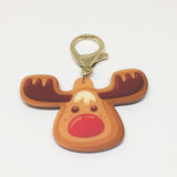 Gingerbread Reindeer Bashtags®  | Personalized Pet ID Tags for Dogs & Cats by Blank Sheet