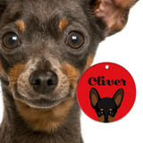 Miniature Pinscher | Best In Breed Bashtags® | Personalized Pet ID Tags by Blank Sheet