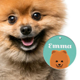 Pomeranian | Best in Breed Bashtags® | Personalized Dog Tags by Blank Sheet