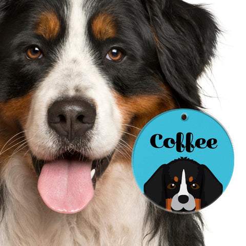 Bernese Mountain Dog | Best In Breed Bashtags® | Personalized Dog Tags by Blank Sheet