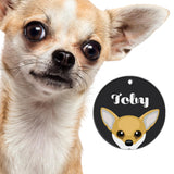 Chihuahua | Best In Breed Bashtags® | Personalized Dog Tags by Blank Sheet