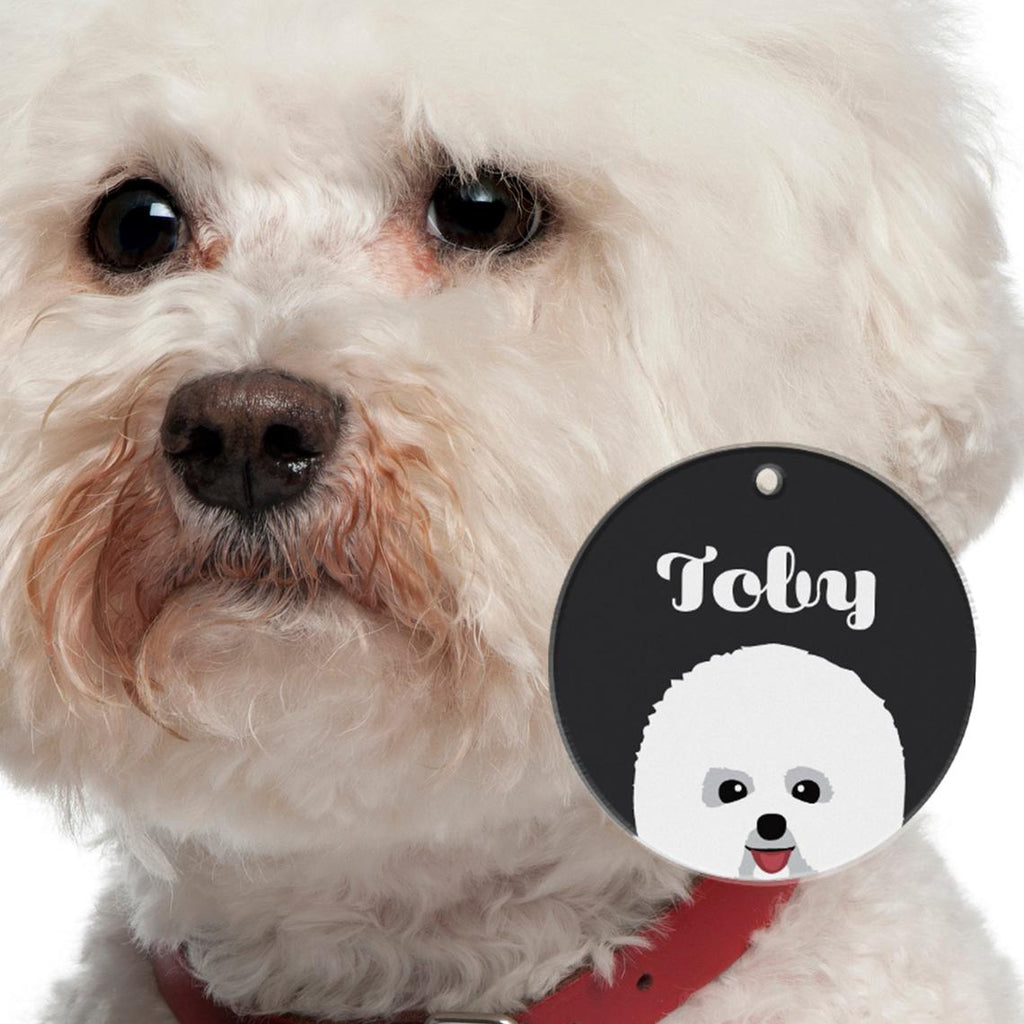 Bichon Frise | Best In Breed Bashtags® | Personalized Dog Tags by Blank Sheet
