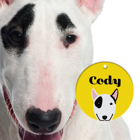Bull Terrier | Best In Breed Bashtags® | Personalized Dog Tags by Blank Sheet