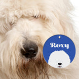 Old English Sheepdog | Best In Breed Bashtags® | Personalized Dog Tags by Blank Sheet