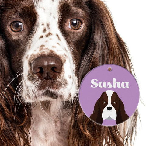 Springer Spaniel | Best In Breed Bashtags® | Personalized Dog Tags by Blank Sheet