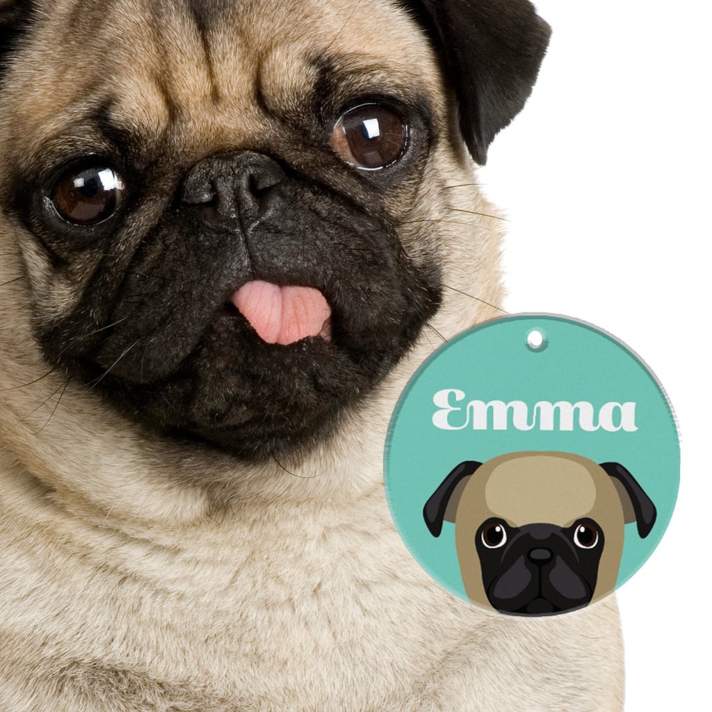 Pug | Best In Breed Bashtags® | Personalized Dog Tags by Blank Sheet